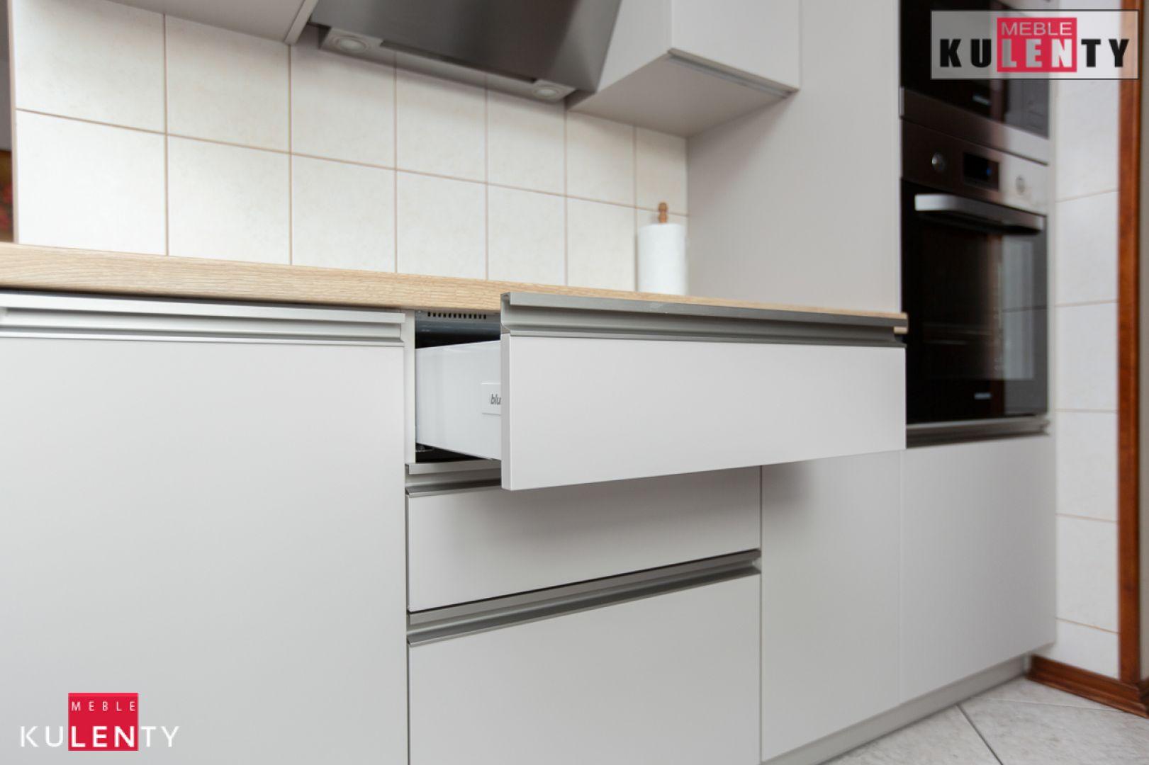 Szara kuchnia na wymiar 5x5C