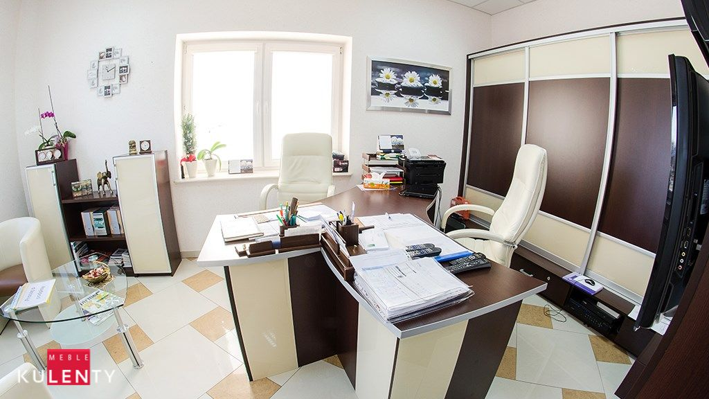 Biuro czekolada drewno