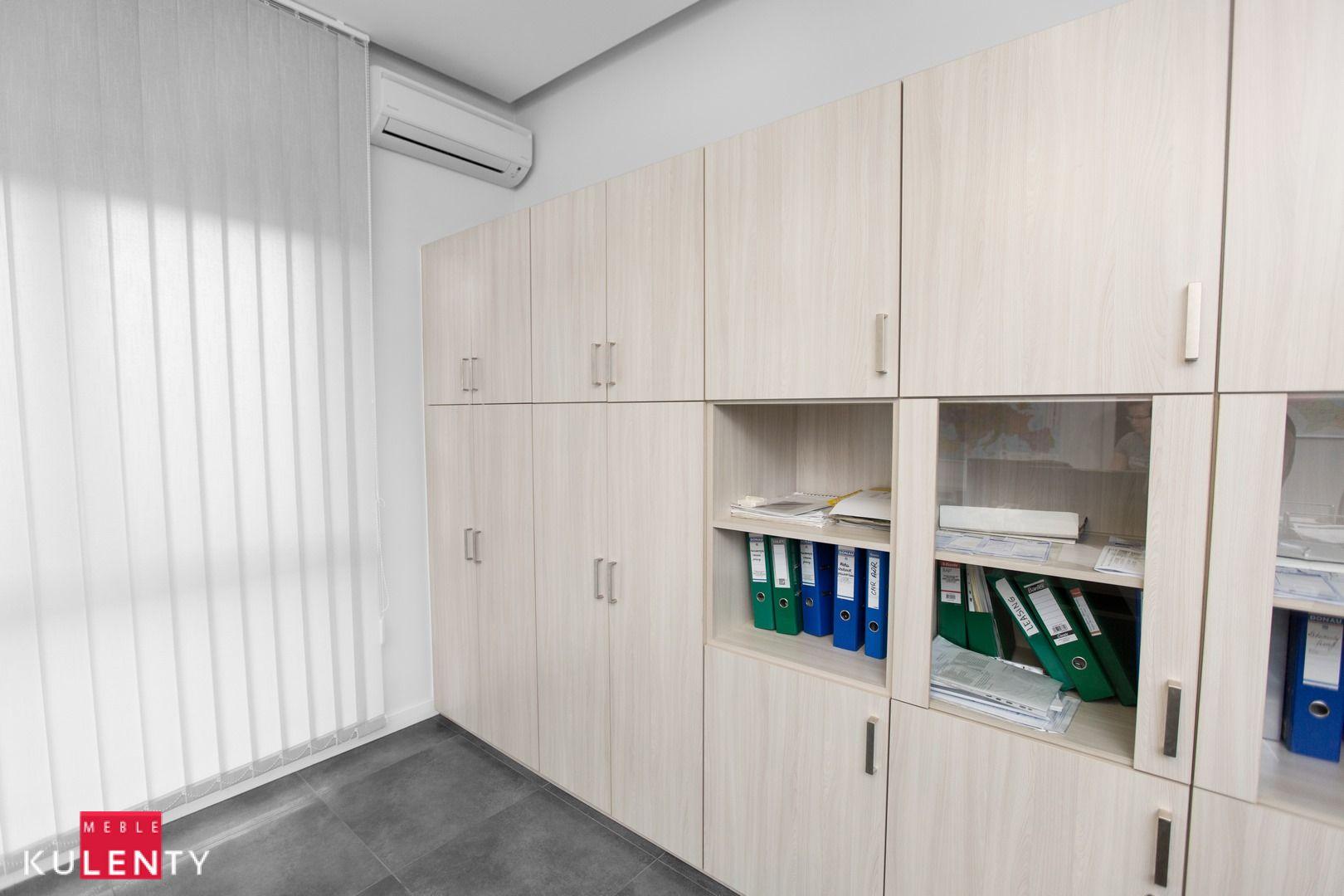 Funkcjonalna biurowa szafa lublin