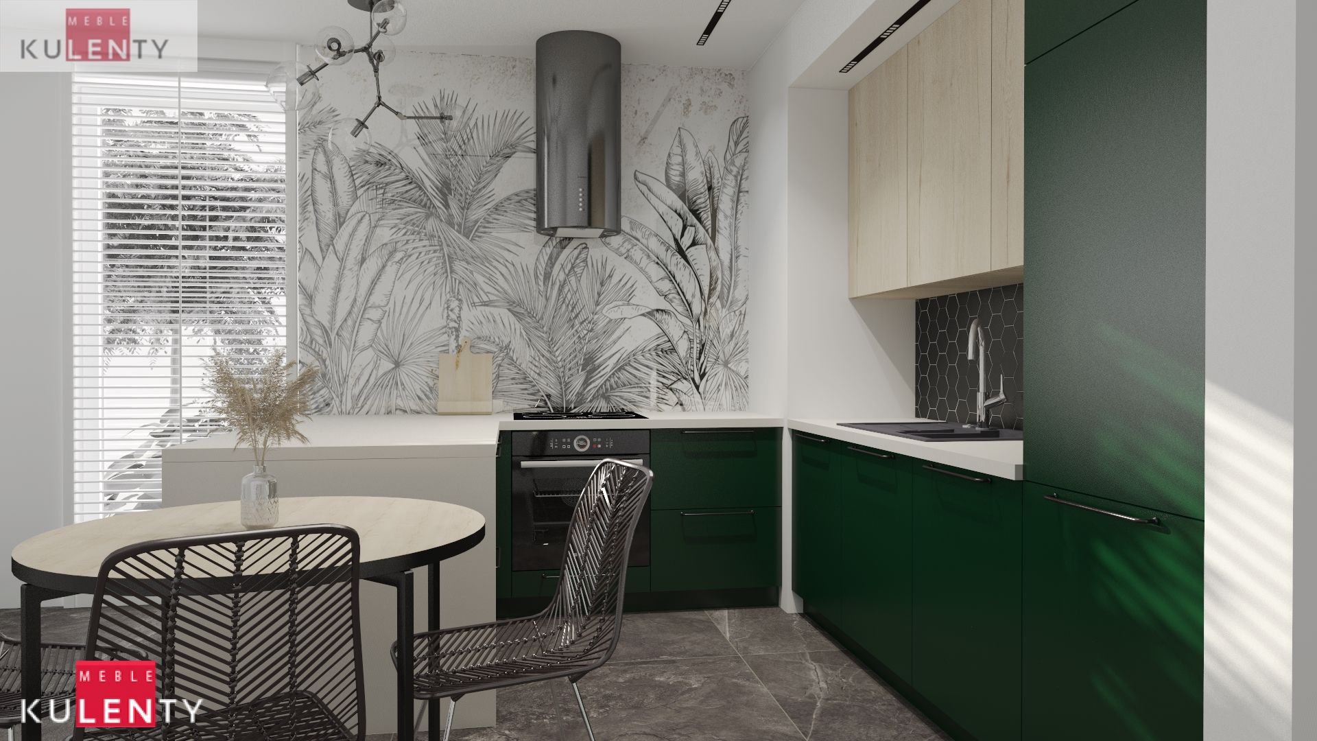 Zielona kuchnia SI8g