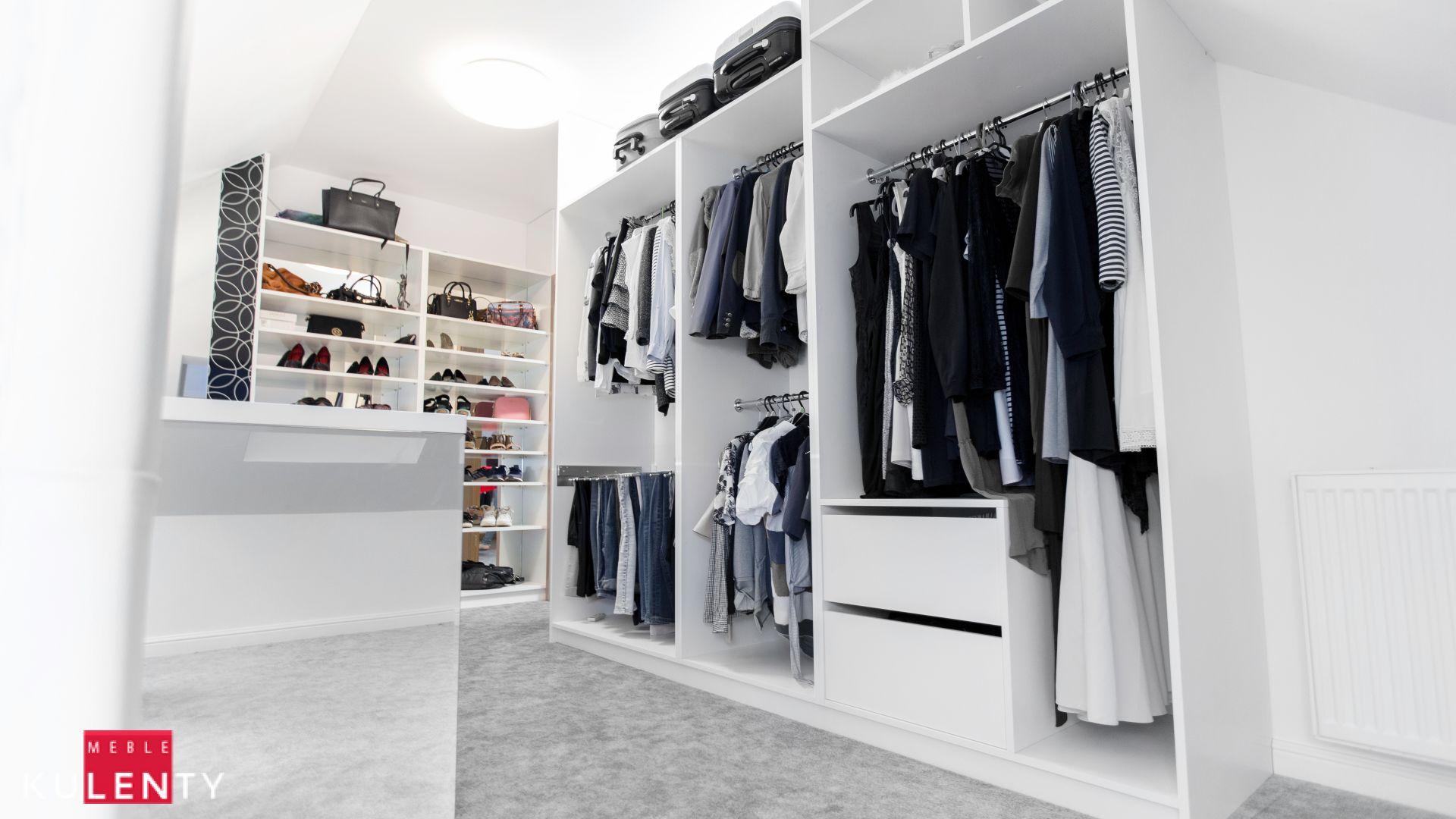 Szafki do garderoby biel sFBC